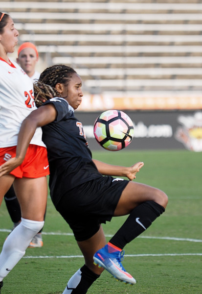University of Texas Soccer vs. Sam Houston State 9.2.2016