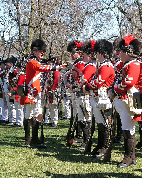 Battle Green Reenactment - Lexington, Mass. - April 2006