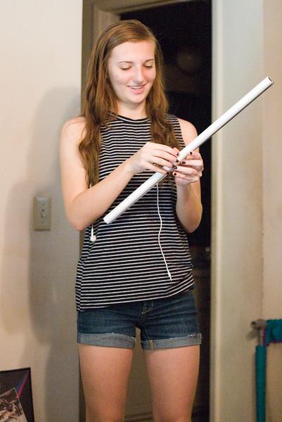 Hannah's 18th Birthday.