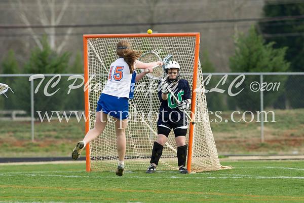2011 - JV Girls Lacrosse