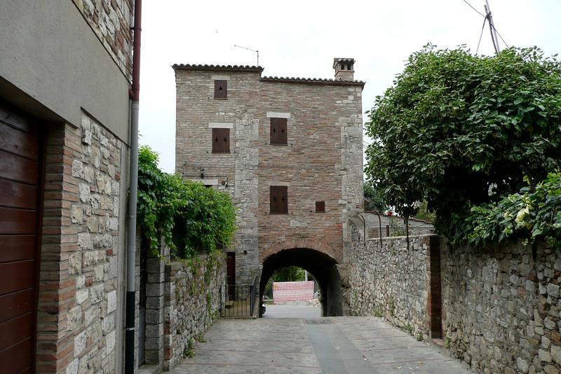 Porta Amerina. Todi, Umbria