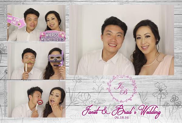 Janet & Brad's Wedding (Luxury Photo Booth)
