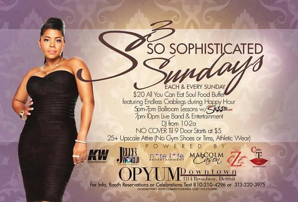 Opyum Downtown 1-20-13 Sunday