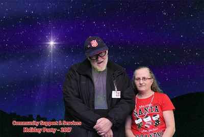 Community Support Services Holiday Photobooth 12.7.2017