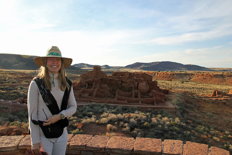 Wupatki National Monument - Ancient native american village abandon hundreds of years ago.