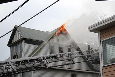 House Fire - 122 Kelsey St, Bridgeport, CT - 4/25/2021