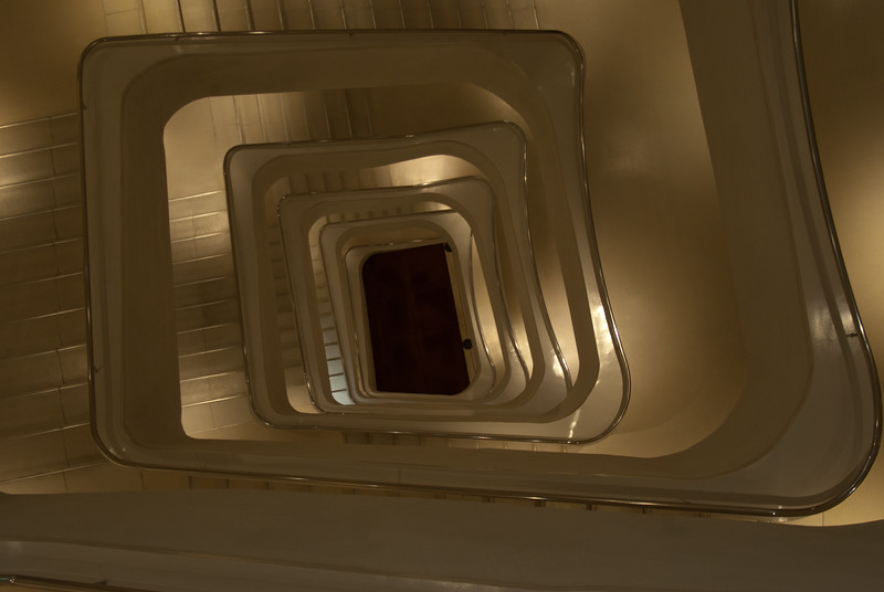 Stairs at la Caxia Museum