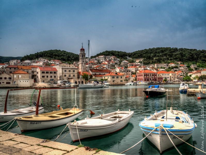 Pucisca Harbour, Croatia