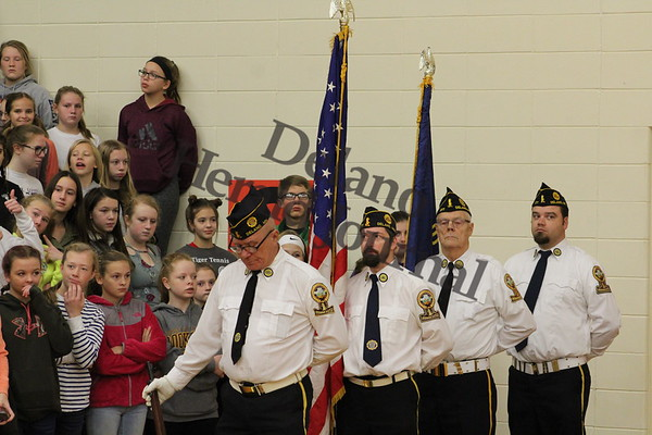 2018 Veterans Day program