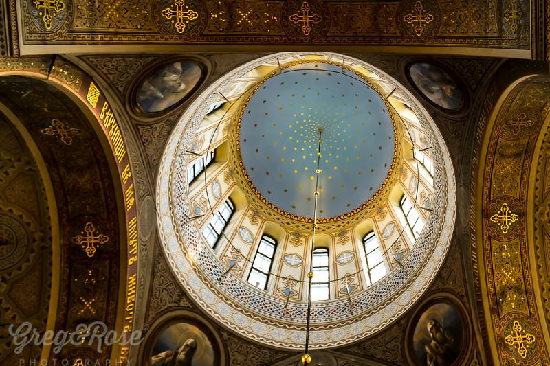 Centre Dome of Uspenski Cathedral