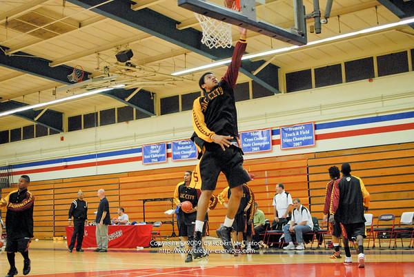 Shasta College: Pre-Half-Post-Game -- 12/04/09