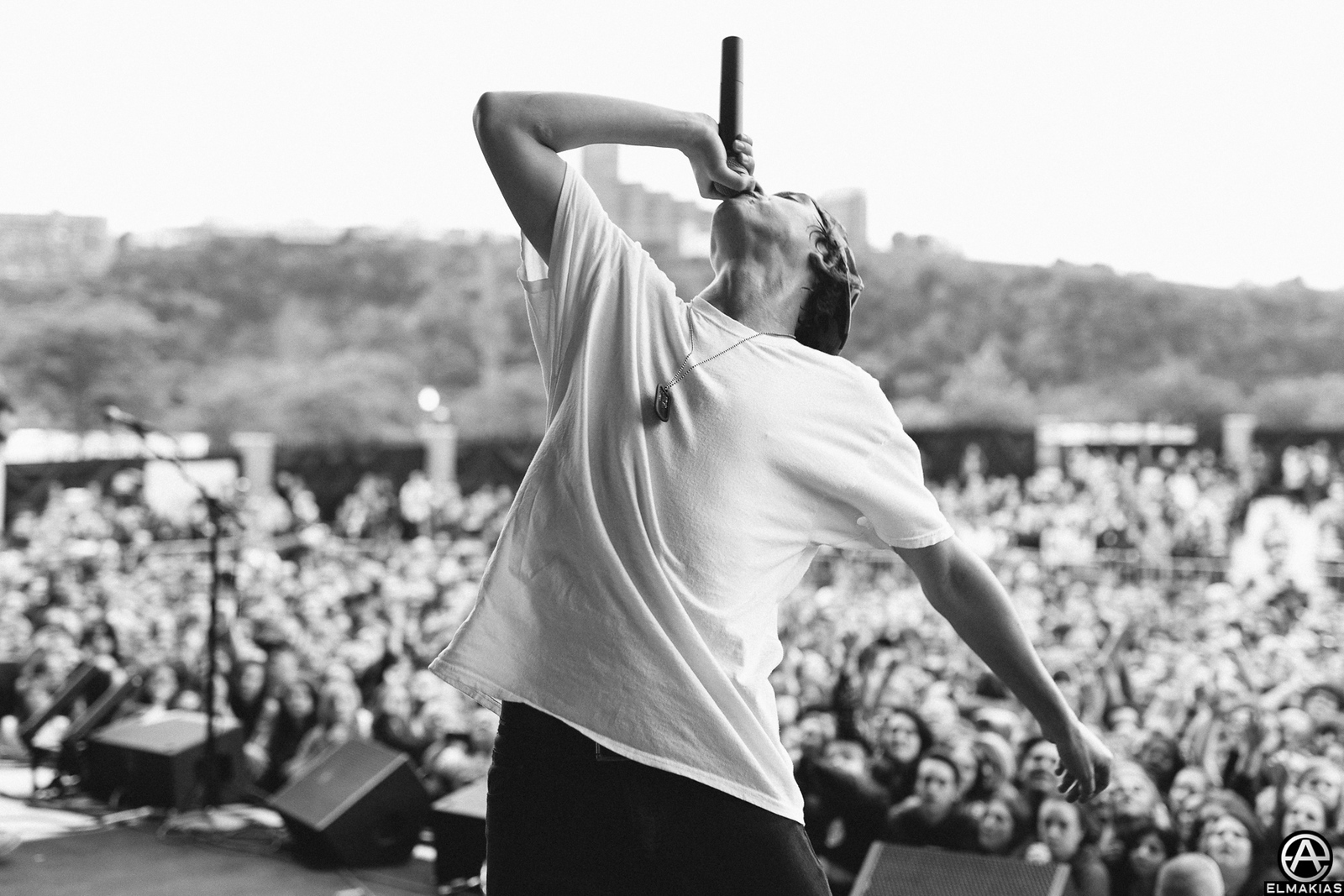 Derek Steez of State Champs on the Future Hearts Tour by Adam Elmakias