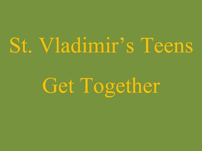 St. Vladimir's Teens Get Together