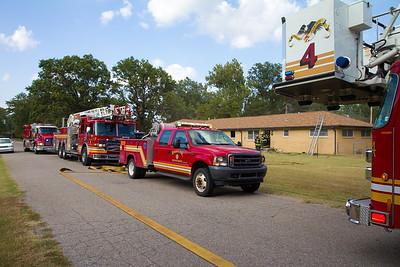 House Fire 602 S Cheryl