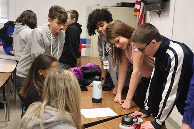 Middle-schoolers spend a day learning about LPS Air Force Jr. ROTC program