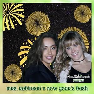 Mrs Robinson's New Years Bash