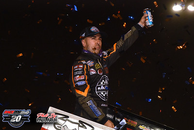 Lernerville Speedway - Commonwealth Clash - World Of Outlaws - 9/26/20 - Paul Arch