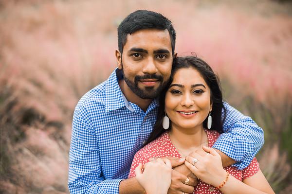Chaulla & Shalin's Engagement Portraits