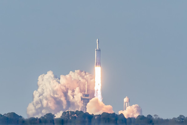 Arabsat 6A on a SpaceX Falcon Heavy