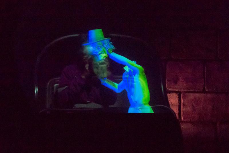 Haunted Mansion Head Swap - Magic Kingdom Walt Disney World