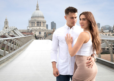 London landmarks photo session -St. Paul's Cathedral