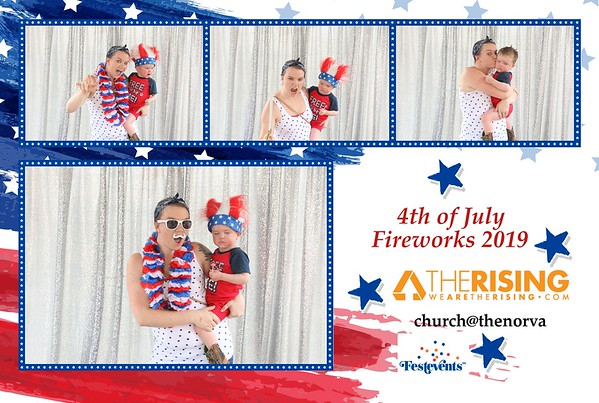 THE RISING CHURCH FOURTH OF JULY