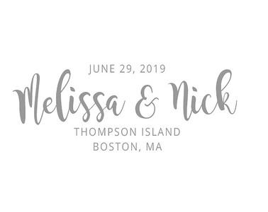 Melissa & Nick's Wedding!