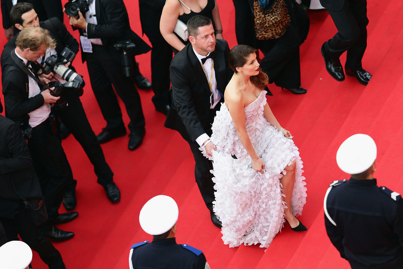 """. Laetitia Casta attends the Opening ceremony and the \""""Grace of Monaco\"""" Premiere during the 67th Annual Cannes Film Festival on May 14, 2014 in Cannes, France.  (Photo by Vittorio Zunino Celotto/Getty Images)"""