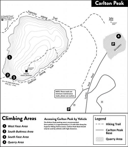 Temperance River State Park (Carlton Peak Area)