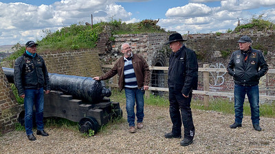 Rw6 Fort Amherst, 5 May 2021