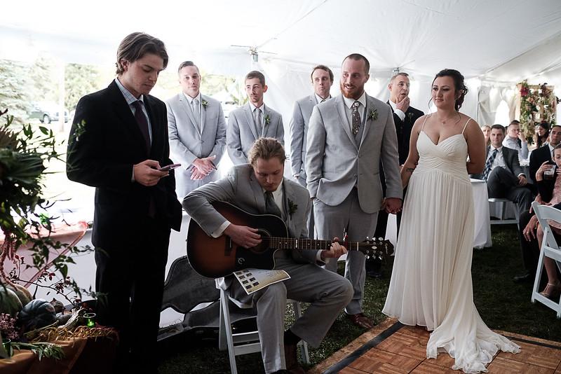 Mady & Clint's Fall Wedding