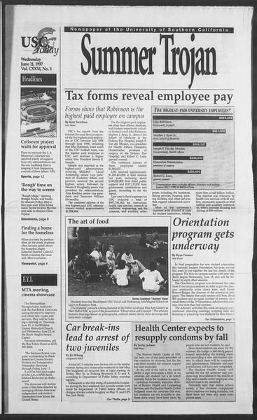 Summer Trojan, Vol. 131, No. 5, June 11, 1997