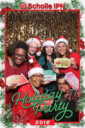 Scholle IPN Holiday Party Mirror Booth