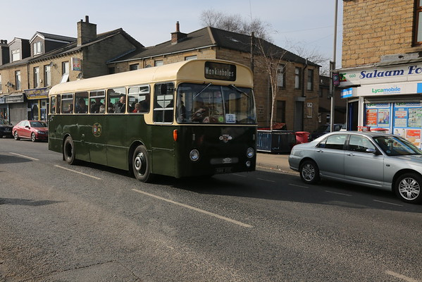 Dewsbury Bus Museum Spring Running Day 13th March 2016