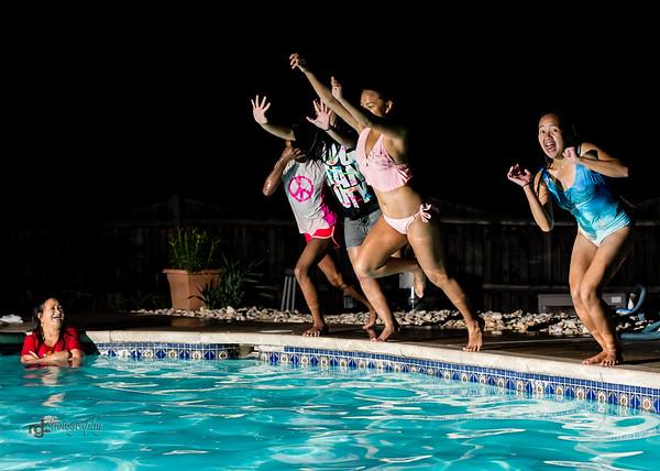 2013 - night swimming