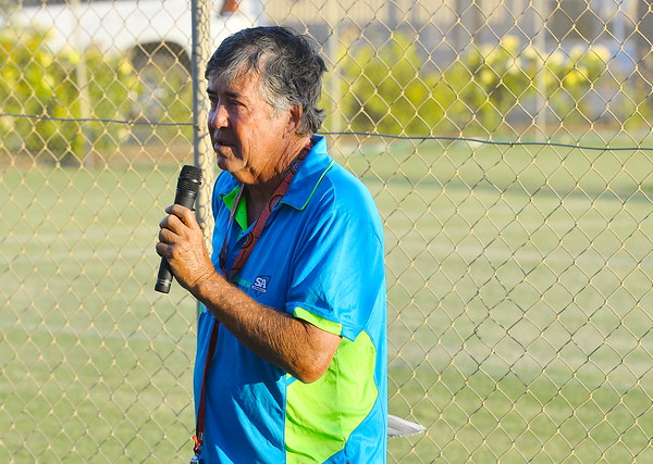 Lighting of New Lights  at Renmark Tennis Club