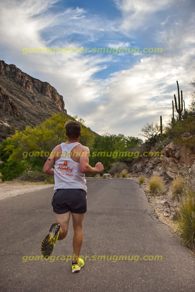 Sabino Canyon Sunset Run