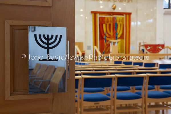 ENGLAND, London. Edgware & District Reform Synagogue (8.2016)