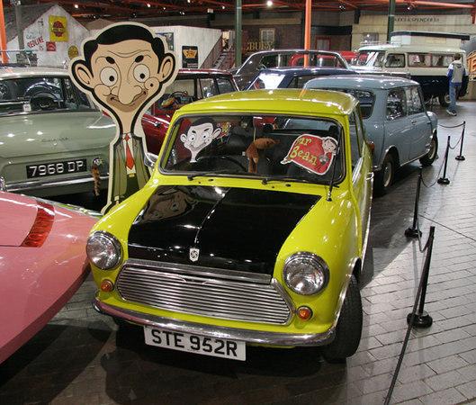 Mr Beans Mini, National Motor Museum, Beaulieu, Southern England.