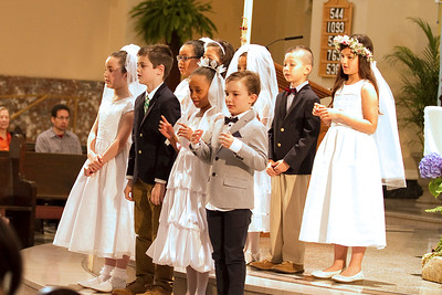 May 1, 2016  - 10:30am Mass - First Communion Digital Images