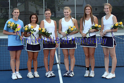 2010 Girls Tennis / Senior Night