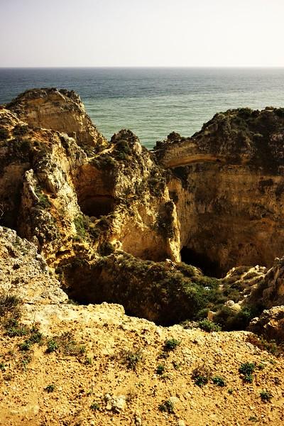 Fascinující pobřeží kolem Ponta da Piedade