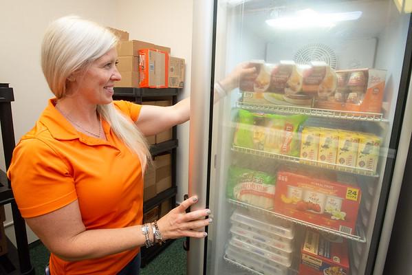 8/25/21 Milligan's Food Pantry New Refrigerator