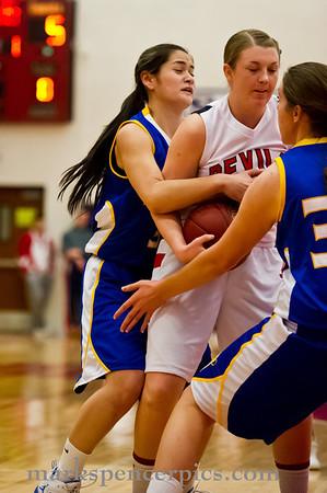Basketball Girls SHS vs Orem 2-7-2012