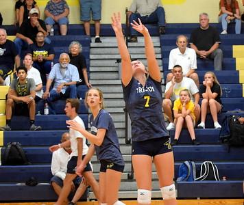 HS Sports - Trenton at Wyandotte Volleyball 19