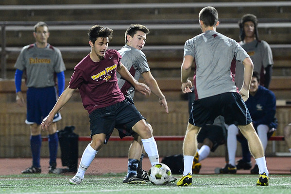 TP Boys Soccer Alumni game, 1-2-15