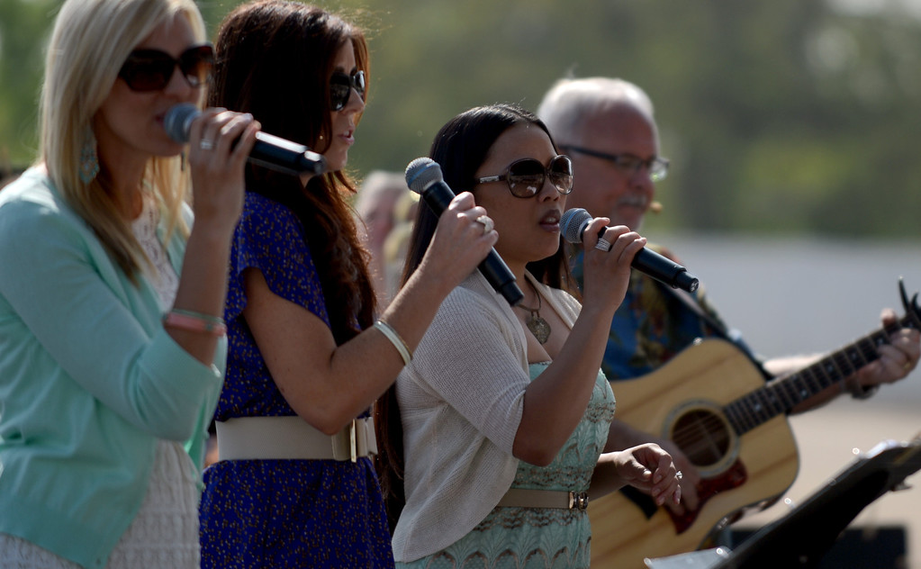 . Pomona First Baptist Church 17th annual regional Easter service at the Fairplex in Pomona March 31, 2013.  (Thomas R. Cordova/Staff Photographer)