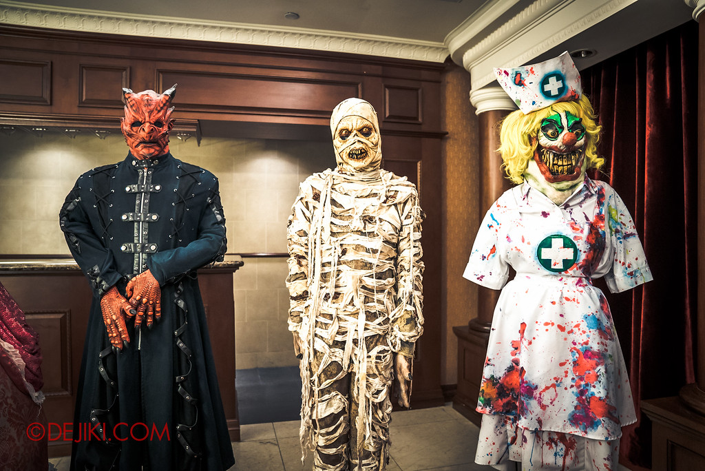 Halloween Horror Nights 6 Behind The Screams BTS Tour 2016 / Costumes