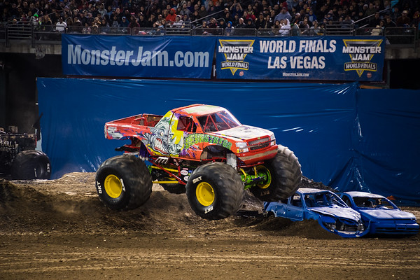 Monster Jam Oakland Coliseum 2018