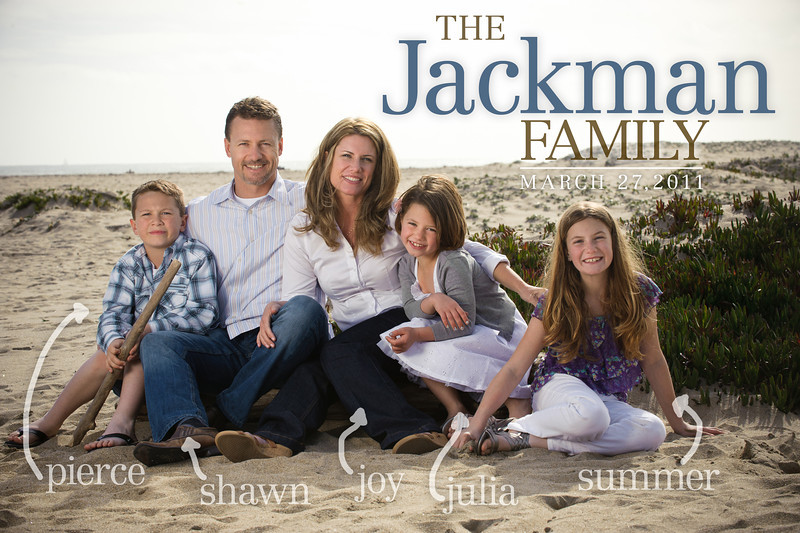 Shawn + Joy = Summer > Pierce > Julia (Family Photography, Seabright Beach, Santa Cruz, California)